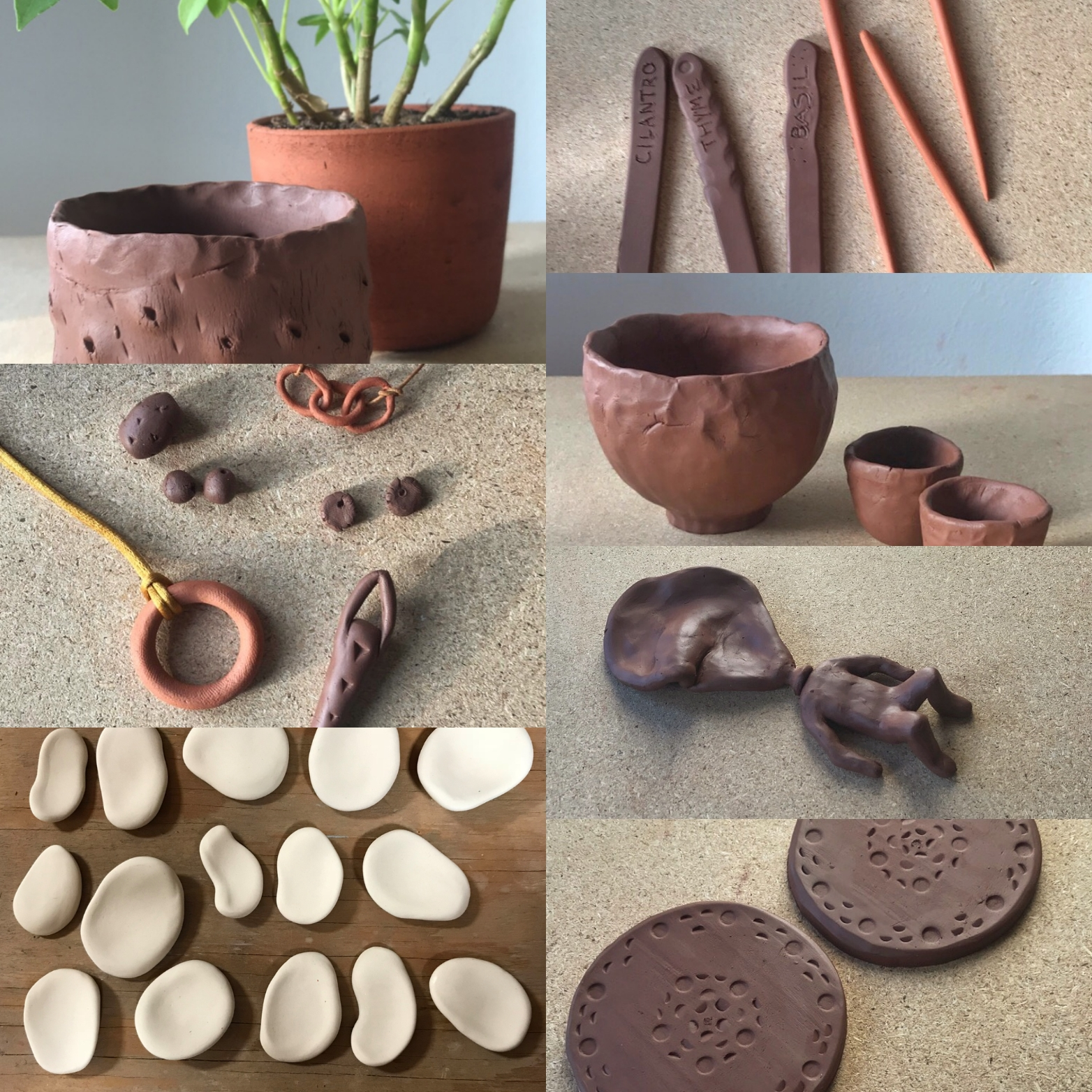 stay-at-home Clay at Home!